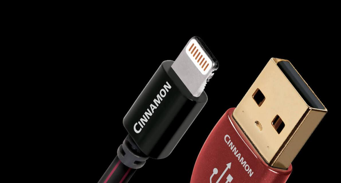 AudioQuest Cinnamon Lightning-USB