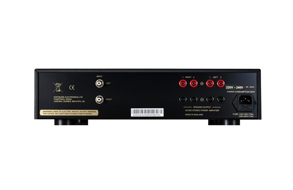 Exposure 3010S2 Stereo Power Amplifier Black
