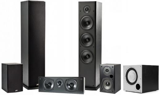 Polk Audio T Set Black